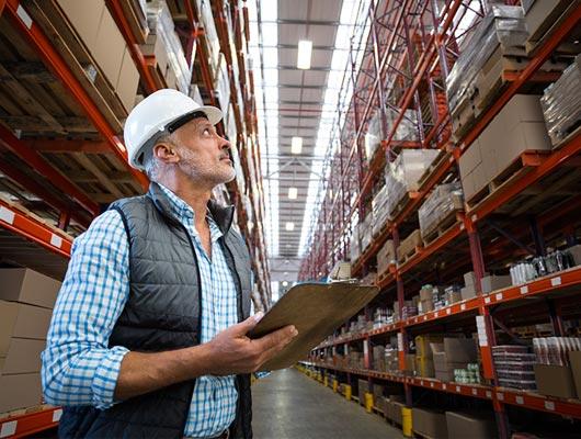 Ispezione e certificazione sicurezza per le scaffalature